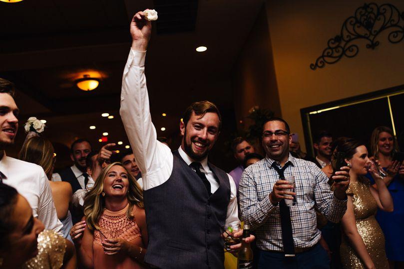 Wedding party dance off (t&m)