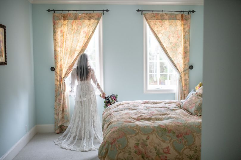Private bride and groom suites