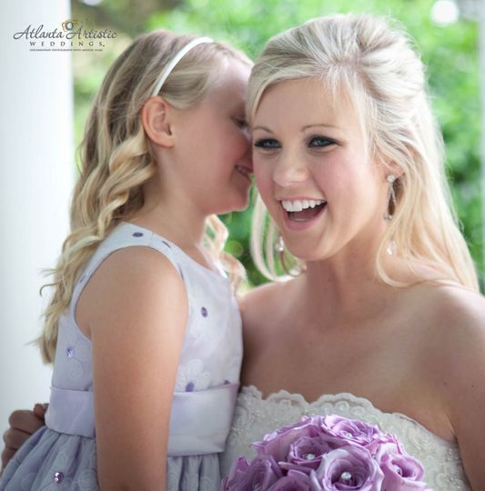 atlanta wedding photography bride with child atlan