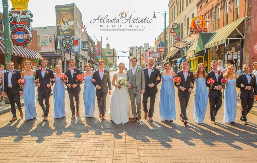 memphis wedding mississippi river atlantaartisticw