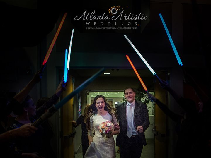 Tmx 1458568385830 Atlanta Artistic Weddings Star Wars Entrance Atlanta, Georgia wedding photography