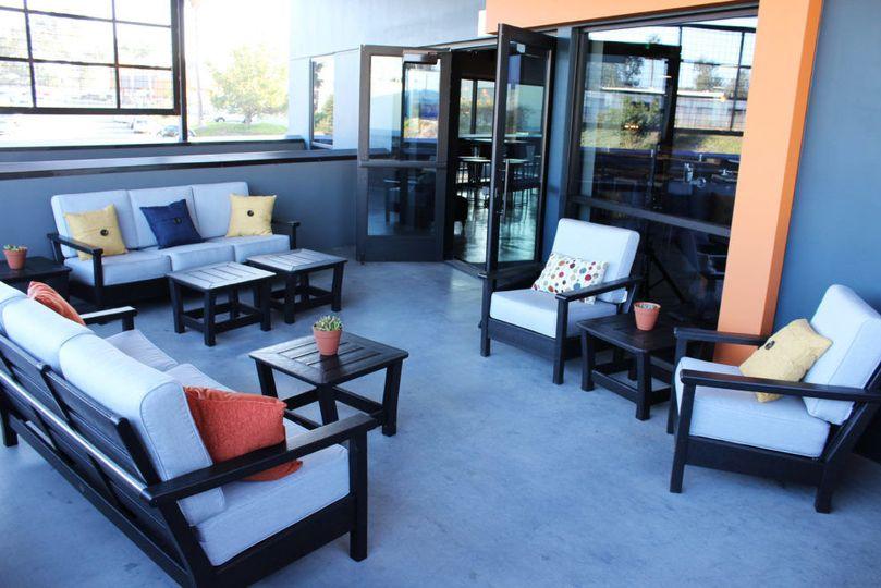 Mezzanine - Outdoor Deck
