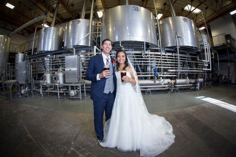 Brewery - Bride & Groom