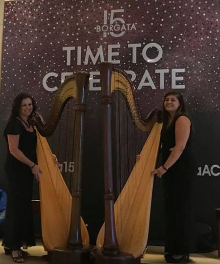 Duo harp hotel events