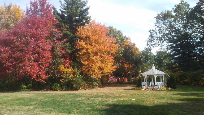 Fall wedding at The 228
