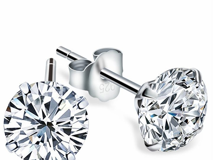 Tmx 1469956820234 Diamond Stud Earrings 2 Evansville wedding jewelry