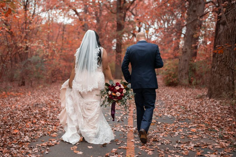 Couple walking together - Good Omen Photography