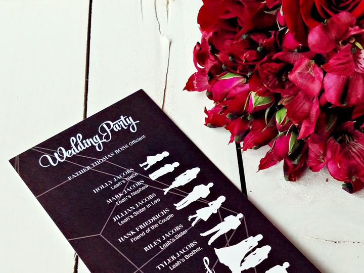 Tmx 1477098062743 Nov17outlineprogram Eagan, MN wedding invitation