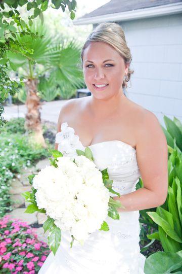 Fresh looking bride