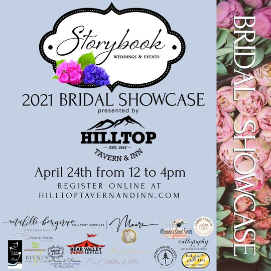 Bridal show open house 4-24-21