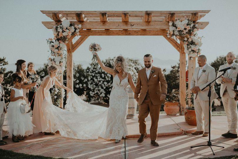 Summer wedding Ranch Wedding