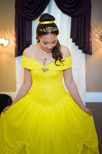 Disney Belle inspired gown