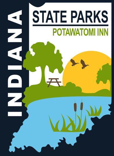 Potawatomi Inn Logo