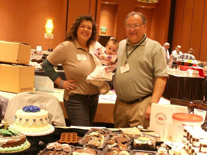 Tmx 1427992161799 Rick Amy And Lorelei Lake Geneva wedding cake