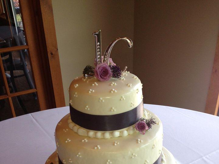 Tmx 1427992427524 Bakery Aug 2013 062 Lake Geneva wedding cake