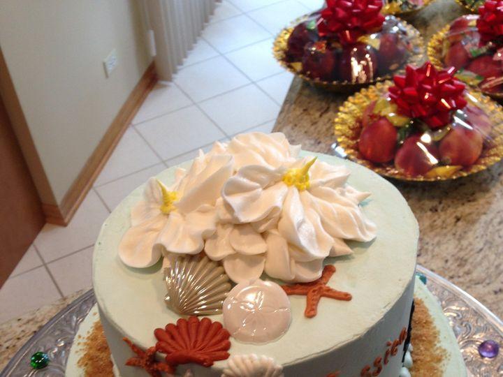 Tmx 1427992646767 Bakery Aug 2013 133 Lake Geneva wedding cake