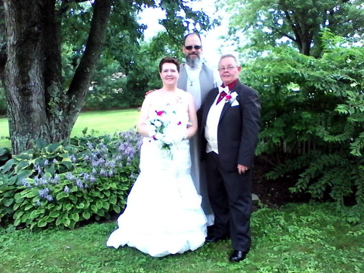 Tmx Brian With Wedding Couple 51 1044619 Sellersville, PA wedding officiant