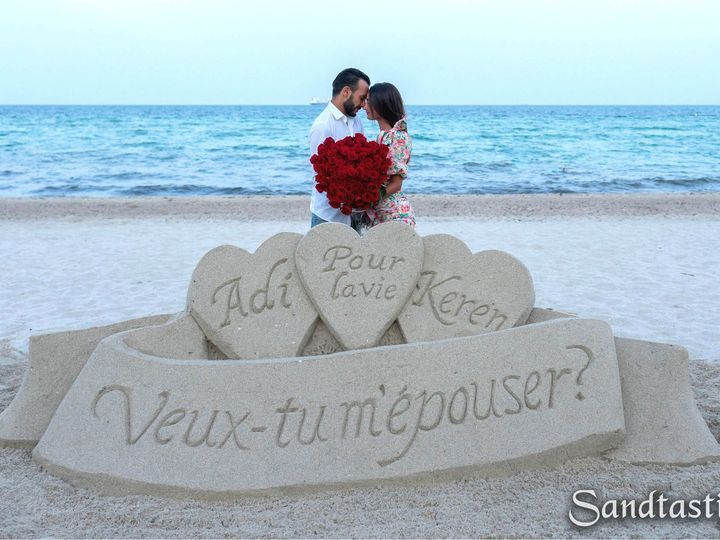 Tmx Sandtastic Photos Watermarked Proposal Adi Keren 51 1074619 1566485094 Sarasota, FL wedding eventproduction