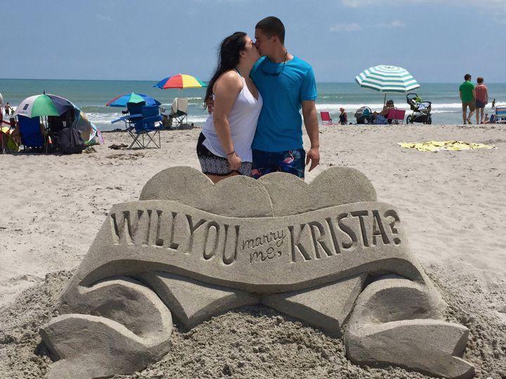 Tmx Sandtastic Watermarked Proposal Krista 2 51 1074619 1566344959 Sarasota, FL wedding eventproduction