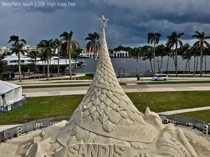 Tmx Sandtastic Watermarked West Palm Xmas Tree 1 51 1074619 1568240960 Sarasota, FL wedding eventproduction