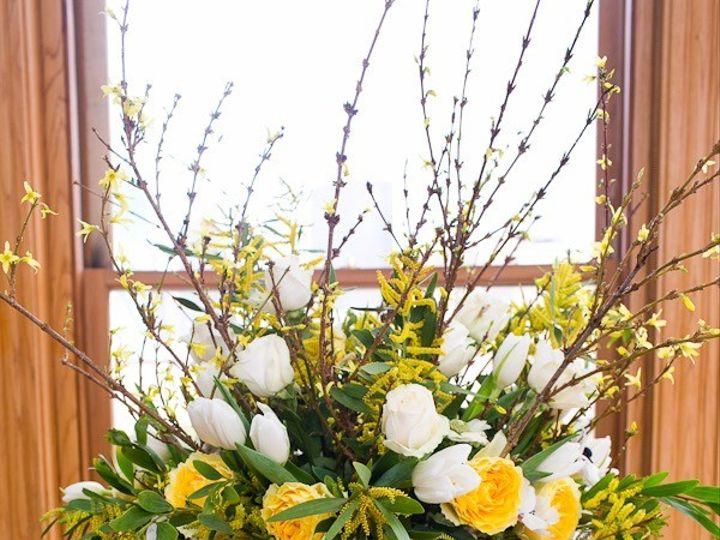 Tmx 1476206278232 10 Yellow Green White Altar Piece Dallas wedding florist