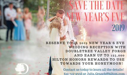 Keystone Ballroom in DoubleTree by Hilton Philadelphia Valley Forge 1