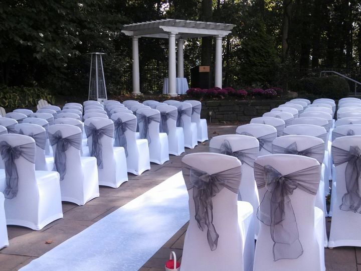 Tmx 1413993037569 Pool Ceremony King Of Prussia, PA wedding venue