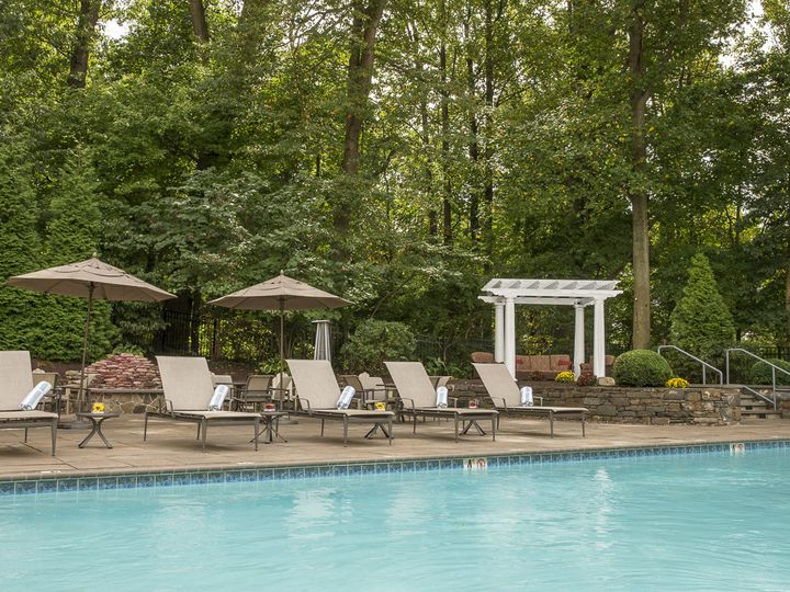 Tmx 1443449206240 Doubletreehiltonverwebready Pool Patio And Fire Pi King Of Prussia, PA wedding venue