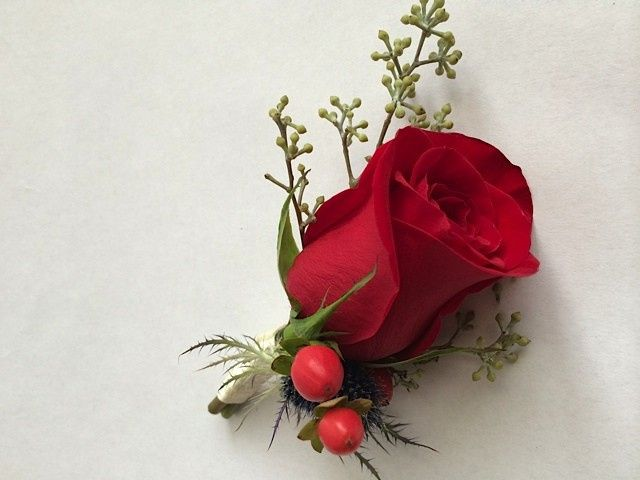 Tmx 1414967183341 Red Rose And Berries Bout Frederick, MD wedding florist