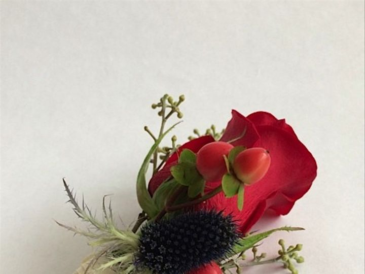 Tmx 1414967195299 Red Rose With Thistle Frederick, MD wedding florist