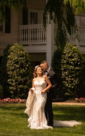 Bride and groom madison hotel