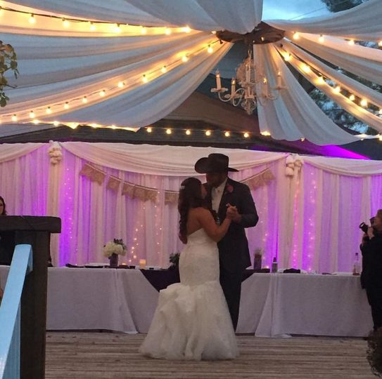 Another memorable first dance