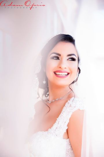 Beautiful and Happy Bride
