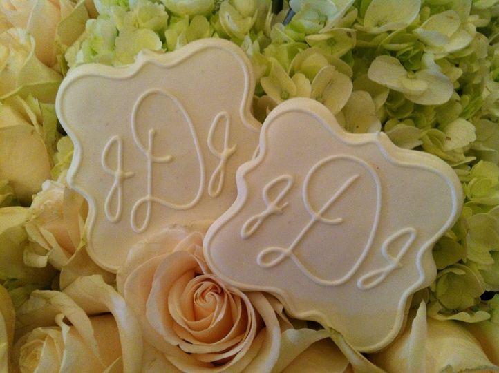 Monogrammed Wedding Favor