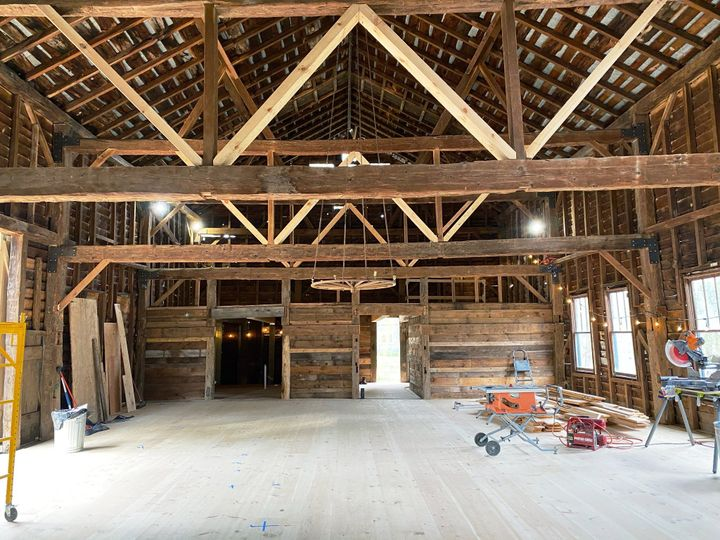 Barn main floor