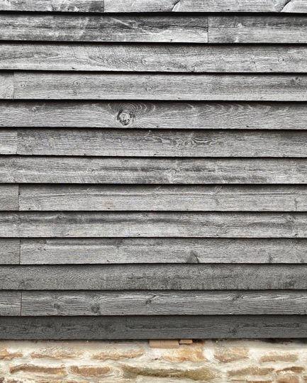 Barn siding and stone masonry