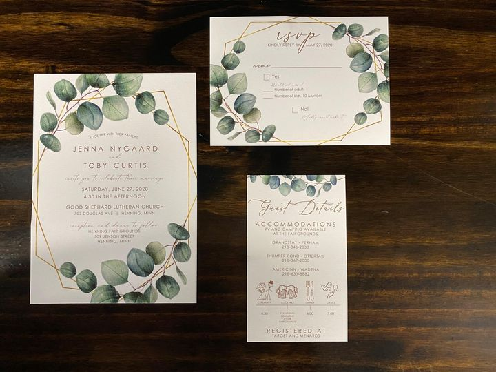 Tmx Sample 6 51 1298619 160442722640513 Perham, MN wedding invitation