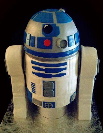 R2D2 Groom's Cake.