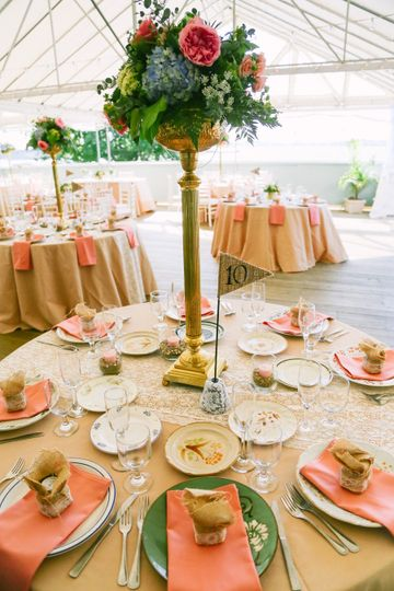 Long tables | Maine tinker photography