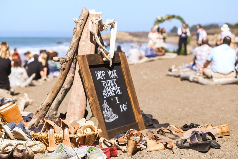 Nothing better than the sand between your toes. We loved how much fun everyone had at this wedding