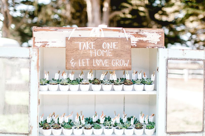 Love these wedding favors that keep on giving!