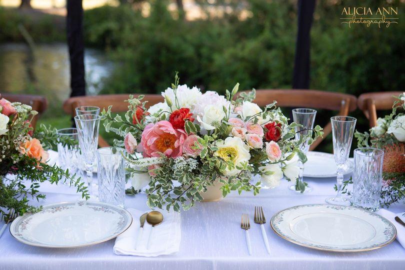 Spring Sanger wedding