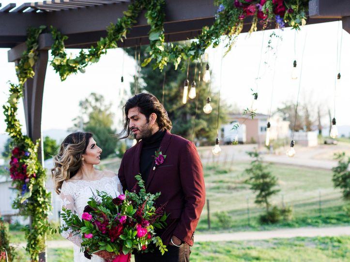 Moody Spring Wedding