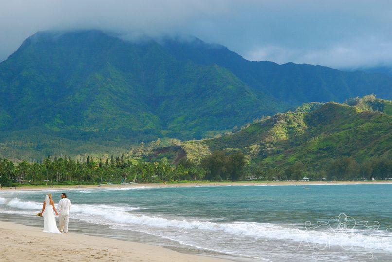 alohanakauaiweddings kauai beaches