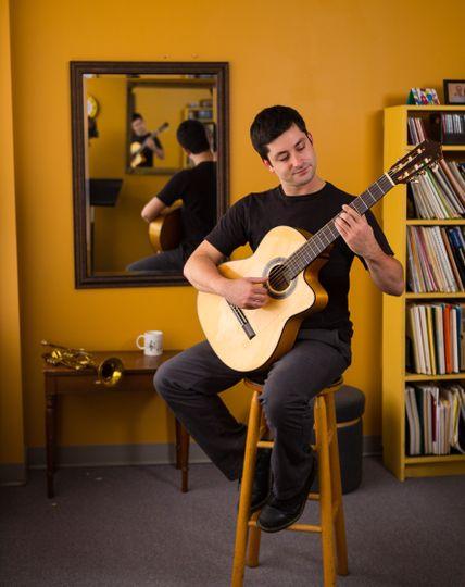 Sam Irvin guitar session