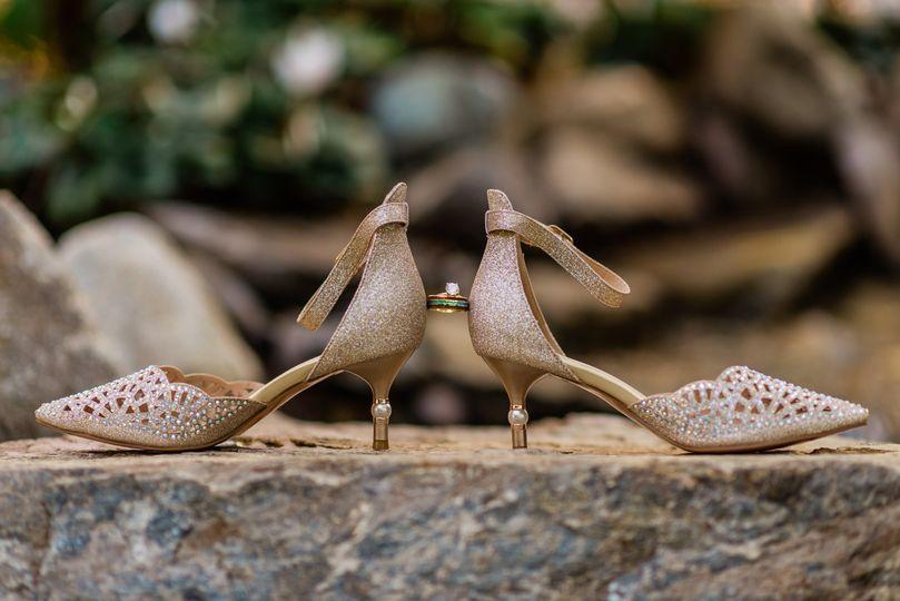 Bridal Shoes & Ring Shot