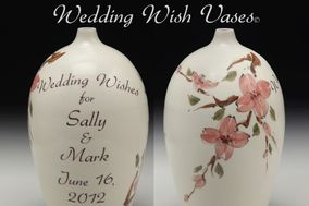 Wedding Wish Vases© by Voorhees Pottery