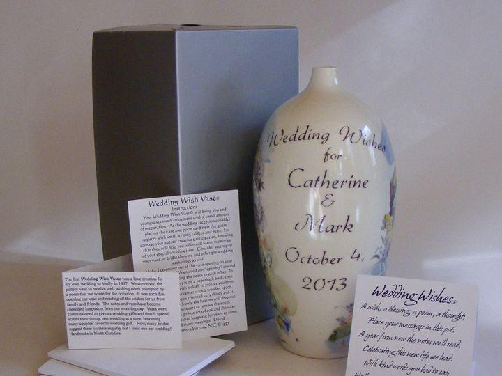 Tmx 1389270548774 Wwvase Set U Zirconia wedding favor