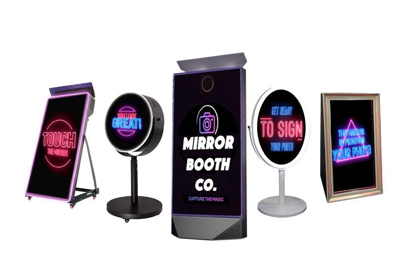 Mirror booth equipment