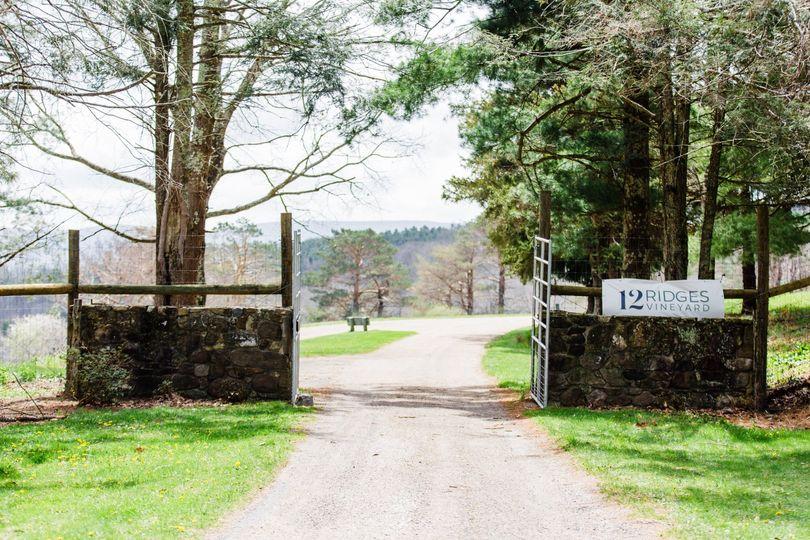 Entrance - 12 Ridges